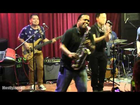 Sandhy Sondoro ft. Nicky Manuputty - Superstar @ Mostly Jazz 28/05/14 [HD]