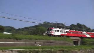 ⚠️音量注意 懐かしの伊豆急200系電車(赤編成➕バガテル編成)