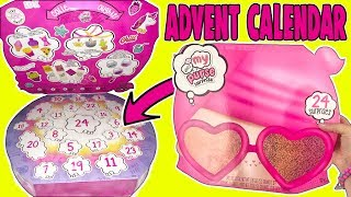 What&#39s In My Purse Surprise 2019 Advent Calendar Toy!  Girls Makeup, Jewelry + School Supplies!
