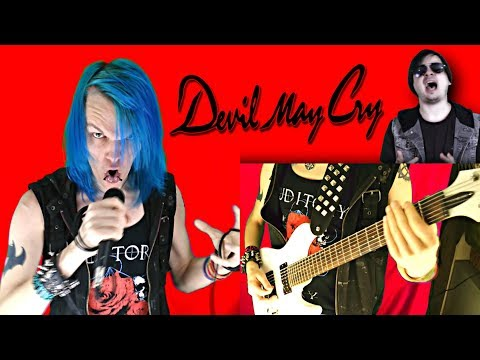 Devil May Cry 3 - Devil's Never Cry INDUSTRIAL METAL Cover by Maryjanedaniel ft. Chris Allen Hess