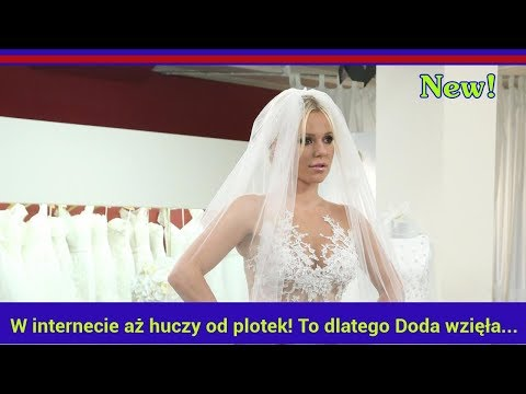 W internecie aż huczy od plotek! To dlatego Doda wzięła ślub z Emilem?