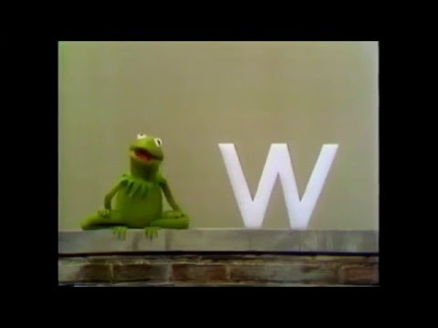 Sesame Street   Kermit's W Lecture