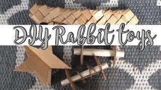 DIY Rabbit Toys //~IsolineMyBunny