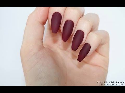 Top 10 Fashion 2018 Acrylic Nails View Nail Length Design For Trendy Sum