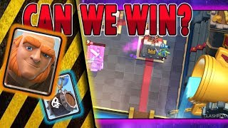 GIANT AND SKELETON BARREL DECK | CLASH ROYALE DECK | ARENA 11