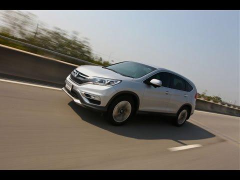 2015 Honda CR-V EL 4WD [Earth Dream Tech] : ขับทดสอบ ฮอนด้า ซีอาร์-วี ใหม่ เครื่อง Earth Dream