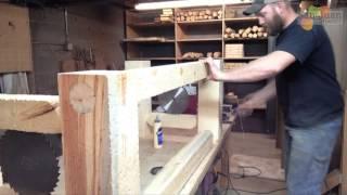 Aged Barn Style Desk/table Legs