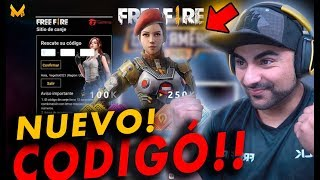 NUEVO CÓDIGO DE FREE FIRE - SE VAN DE REGALO 1000 DIAMANTES!!