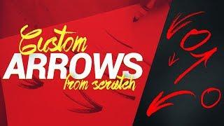 How to Create Custom Arrows for Thumbnails!