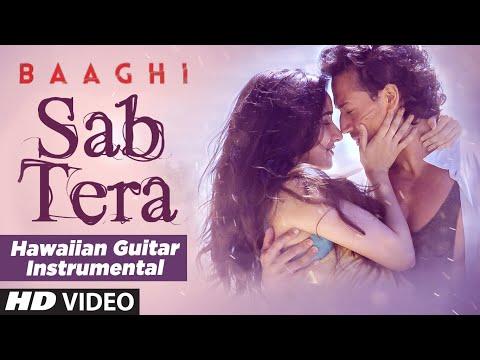 SAB TERA Video Song (Hawaiian Guitar) | BAAGHI | By Rajesh Thaker