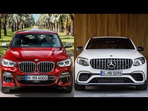 2018 Mercedes-Benz GLC Coupe vs 2019 BMW X4 - Dauer: 5 Minuten, 34 Sekunden