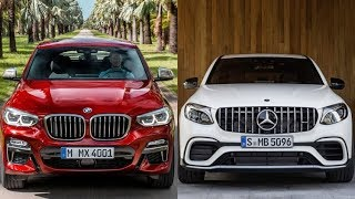 2018 Mercedes-Benz GLC Coupe vs 2019 BMW X4