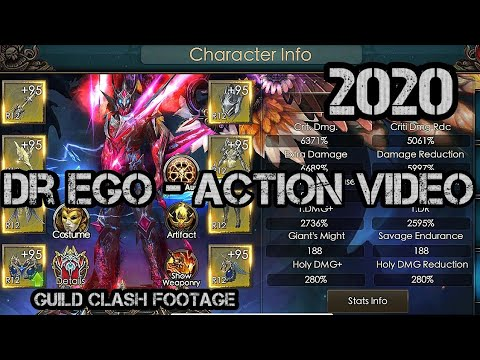 Dr Ego - In Combat Action Movie - Legacy Of Discord
