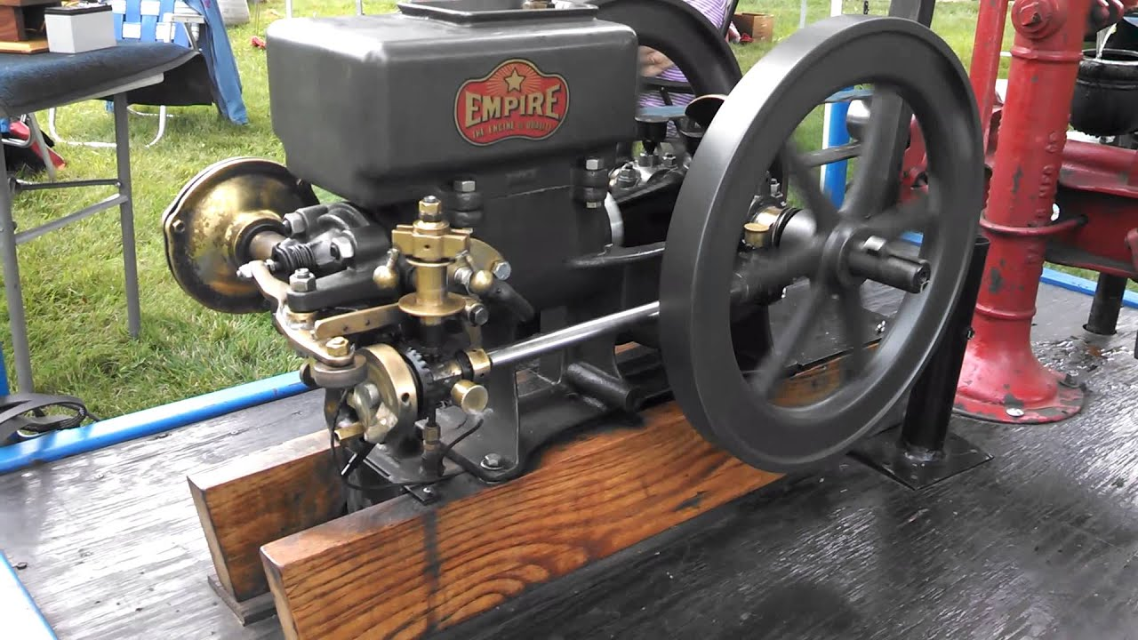 Old Empire Side Shaft Gas Engine Fly Ball Governor Youtube
