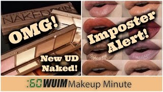 Makeup Minute | Urban Decay Sneaks the NEW Naked Skin Shapeshifter! And SCAM Alert!