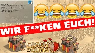GEGNER BELEIDIGT UNS! :D || CLASH OF CLANS || Let's Play CoC [Deutsch/German HD+]