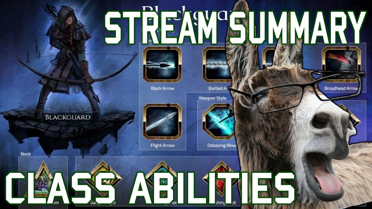 Camelot Unchained - Stream Summary 03 - Beta 1 Classes