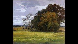 Plein air painting by Fu Dali #7