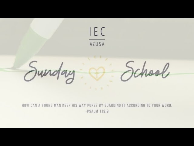 2020.05.24 5:00 PM | IEC Azusa Sunday School Art Time (1st-8th)