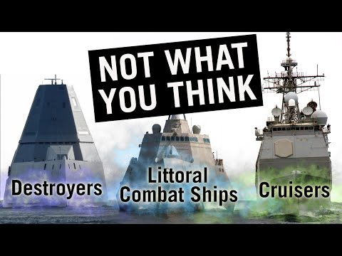 All Types of Warships Explained
