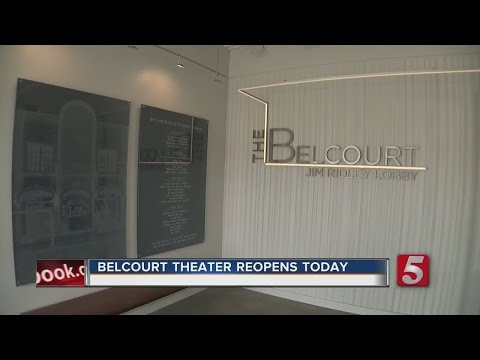 Belcourt Theatre Reopens After Renovation