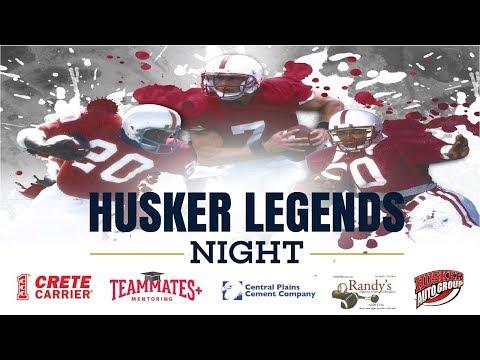 Husker Legends Night at Haymarket Park