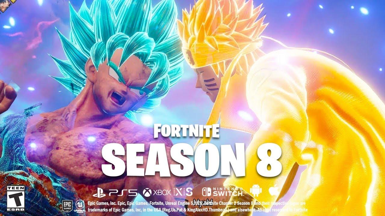 Download Fortnite SEASON 8 Trailer GAMEPLAY LEAKS! (Naruto, Goku, Map Changes + MORE!)