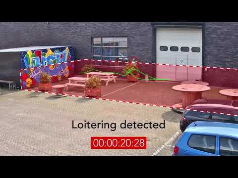 Bosch Security - Loitering detection with Essential Video Analytics