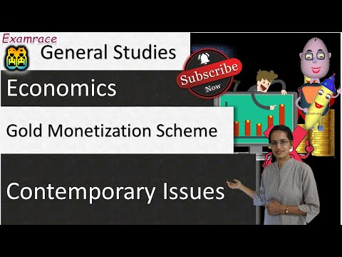 Gold Monetization Scheme & Sovereign Gold Bond Scheme (4 Tranches) - IAS GS 2016