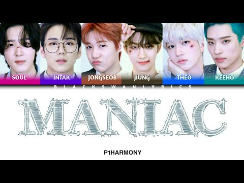 Download P1Harmony (피원하모니) 'MANIAC' COVER (Original Song by: Conan gray) - (Color Coded Lyrics: Eng/Han/Rom)