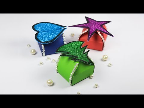 DIY Gift Box: Gift Ideas for New Year | How to Make a gift box (easy)