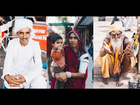 How To Take Photos of Strangers - Portraits in India