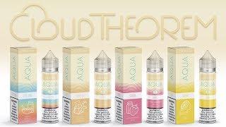 Aqua Cream Line E-liquid Review ☁ CYCLONE   VORTEX   SURGE   LUSH ☁ from Marina Vape