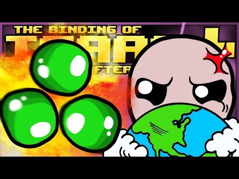 The Binding of Isaac: Afterbirth+: EARTH SHATTERING EXPLOSIONS! (Hilarious Damage)
