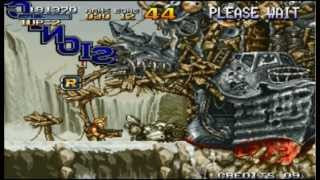 Metal Slug Anthology (PSP) gameplay