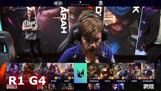 Origen vs Splyce - Game 4 | Round 1 S9 LEC Regional Qualifier for Worlds 2019 | OG vs SPY G4