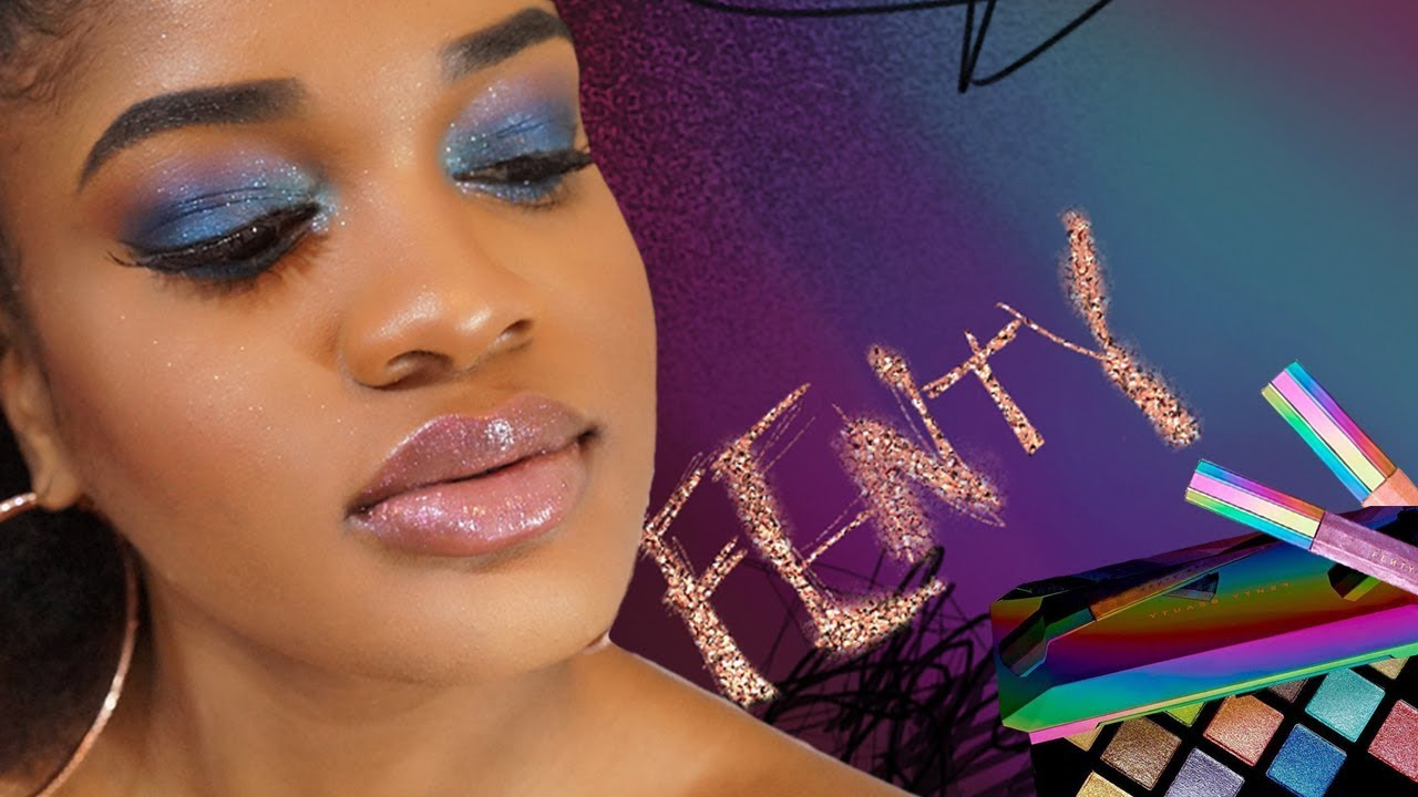 FENTY BEAUTY By Rihanna GALAXY COLLECTION + First Impressions - YouTube
