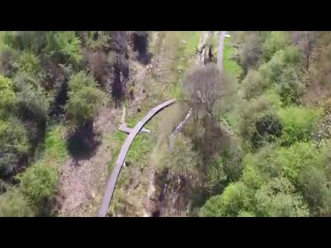Drone footage over Lye Valley, Headington, Oxford.
