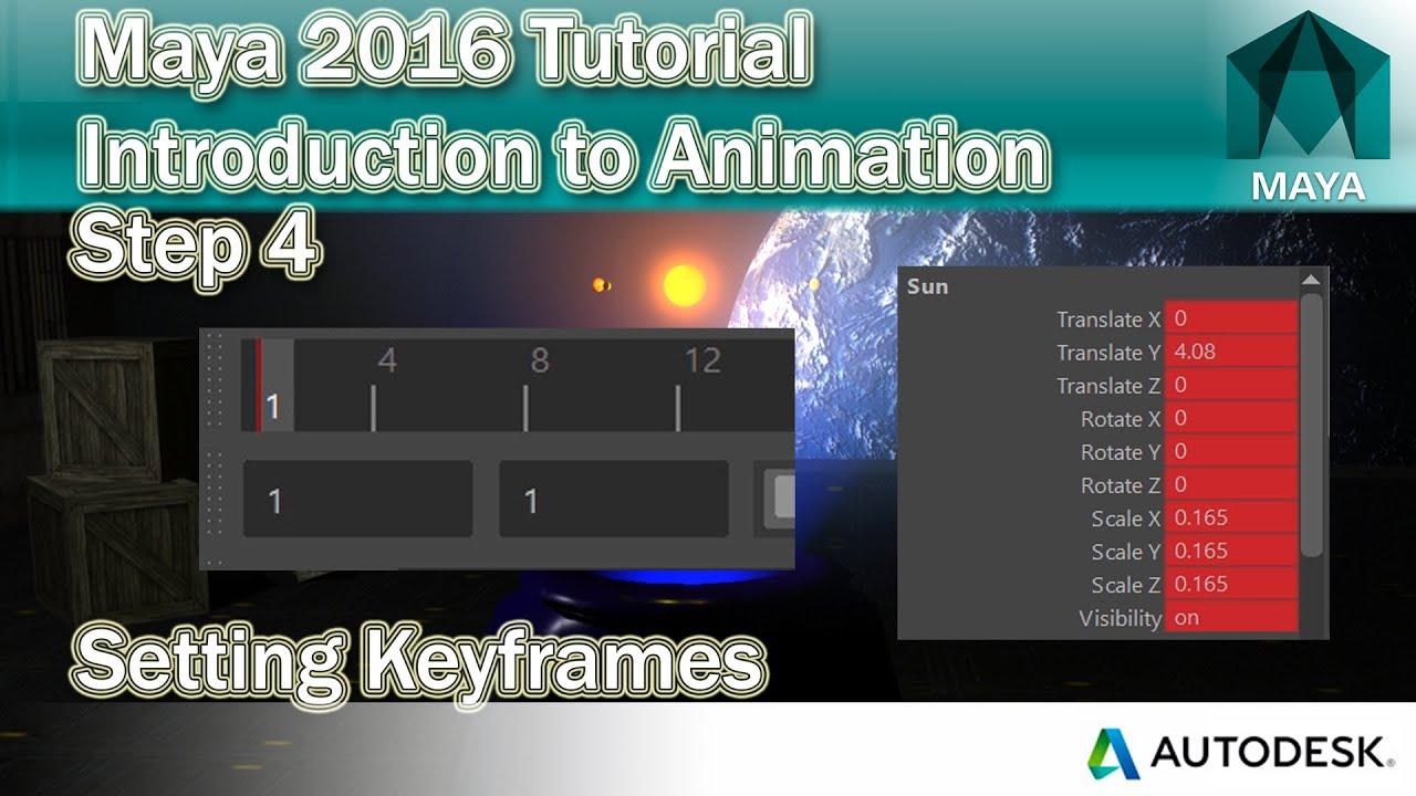 how to move keyframes maya