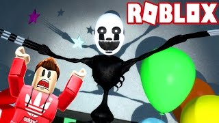 GIANT NIGHTMARE PUPPET MASTER IS GOING TO EAT ME! (Roblox Adventures)