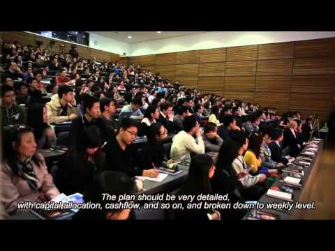 Wanda's Wang Jianlin Speaks at the University of Oxford (Part 2 - English subs)