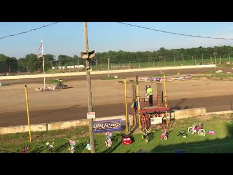 Oakshade Raceway UMP Sportsman Heat Races 6/30/2018