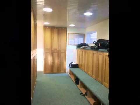 Wooden door lockers, golf club lockers