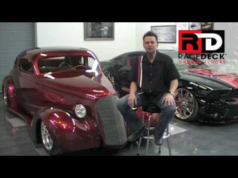 Kindig It Design >> RaceDeck® Garage Flooring & Kindig It Design Testimonial - RaceDeck.com - YouTube