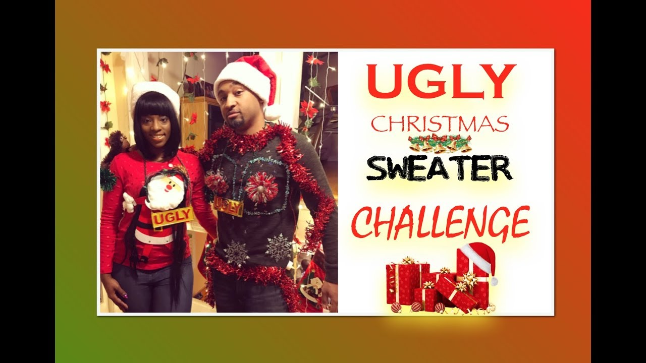 BF vs. GF Ugly Christmas Sweater Challenge - YouTube