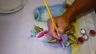 Aprenda a Pintar Papoulas e Transparência – parte 2