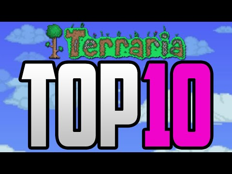 Top 10 Houses In Terraria - The Best Houses In Terraria! [Terraria 1.3 Top 10 Builds]