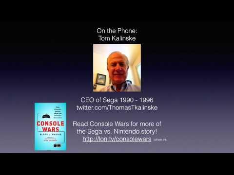 Interview with Tom Kalinske, former CEO of Sega!