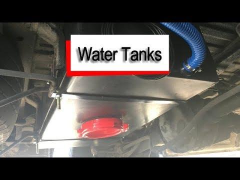 mercedes sprinter campervan water tanks youtube. Black Bedroom Furniture Sets. Home Design Ideas