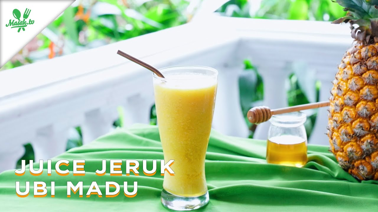 Resep Juice Jeruk Ubi Madu